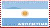 'Argentina Flag' Stamp