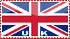 'UK Flag' Stamp by penaf