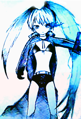 Black Rock Shooter by xX-Fantasia