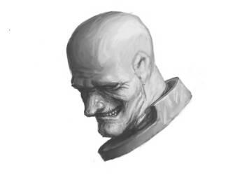 Warhammer 40k sketch