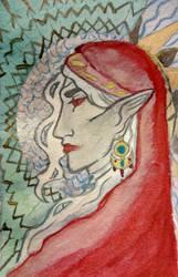 Card: TESAU lady by Mariel-Sylventari