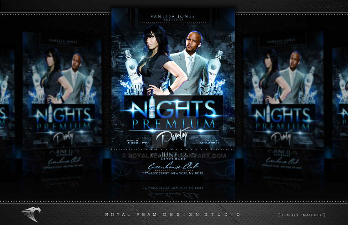 Promotional And Club Flyers By RoyalReam ...