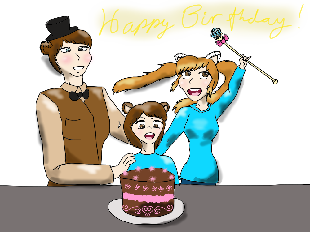 Happy Birthday Kasey! By TheNekoMimiGamer On DeviantArt