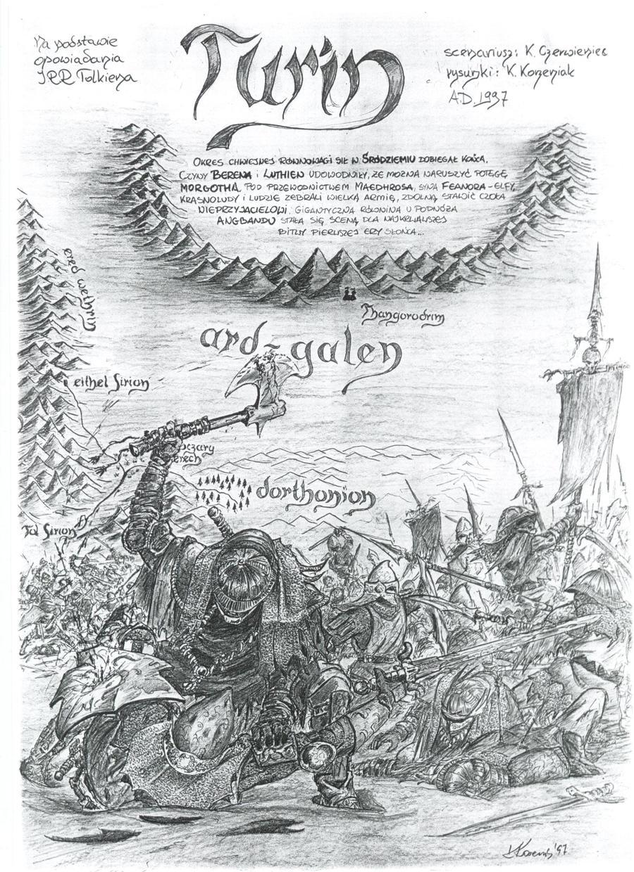 Turin Turambar - 1 page by Rzenio
