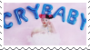 melanie martinez crybaby stamp by hypsistamps