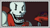 undertale stamp - papyrus by hypsistamps