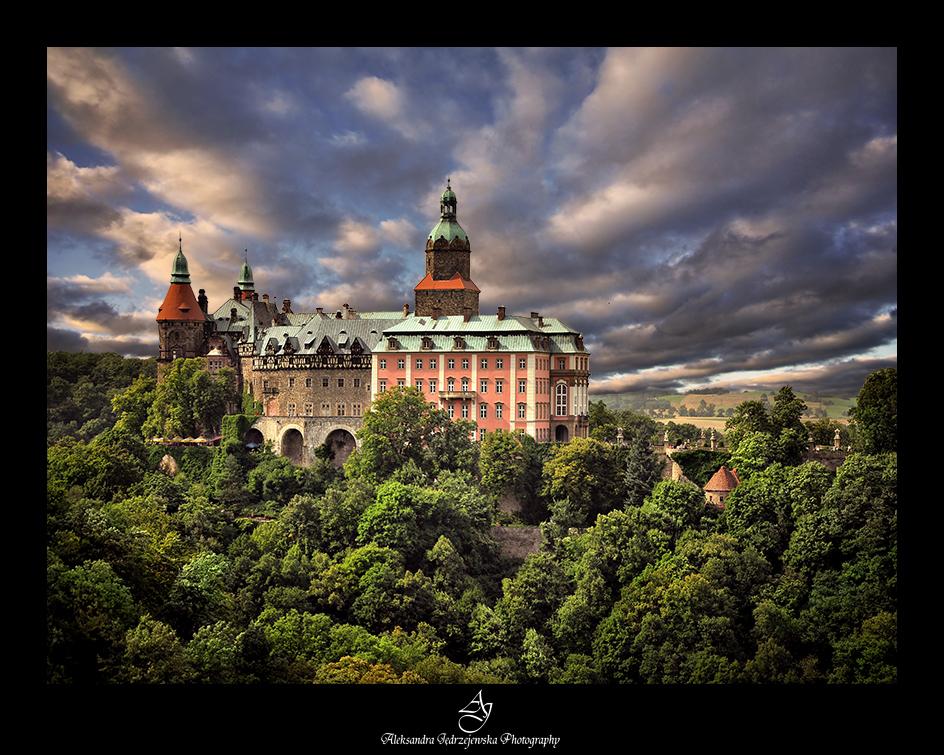 ...Ksiaz castle... by canismaioris