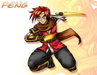 Daniel Riser AKA Feng ver1 by KMebus