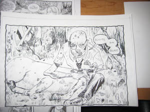 Copy Drawing from Walking Dead 1 Days Gone  Bye