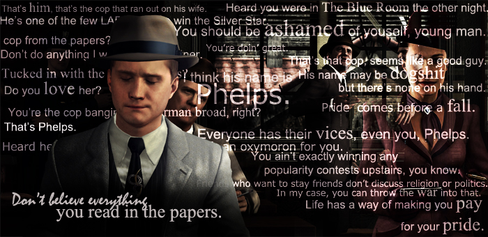 The Downfall of Cole Phelps by bemybadboy