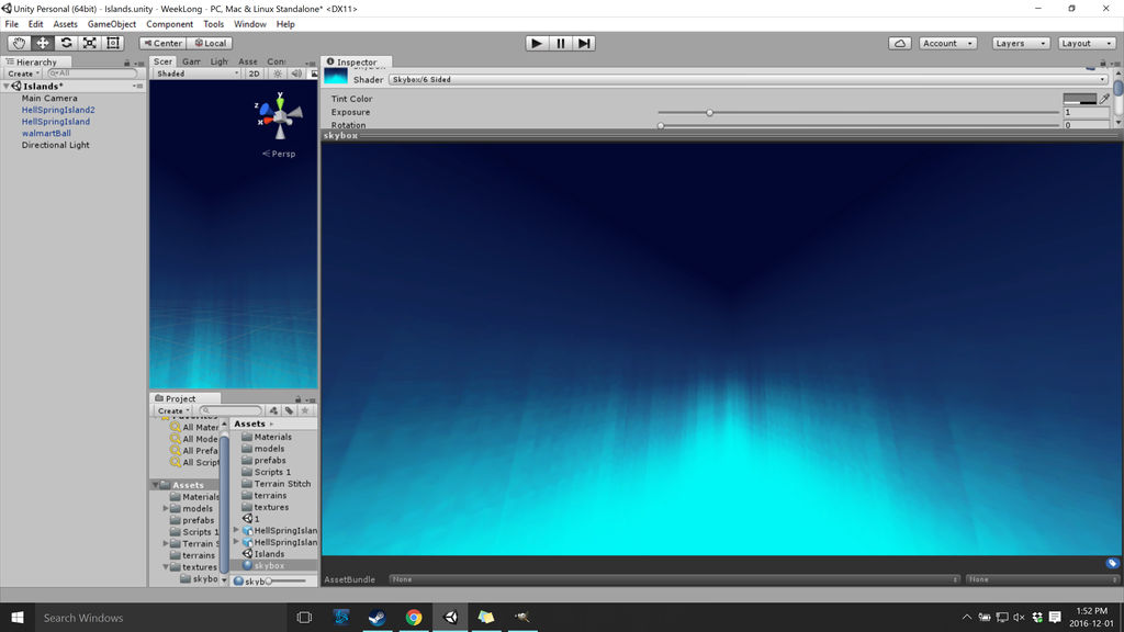 Light to dark Skybox for Unity by Anjie-mackney on DeviantArt