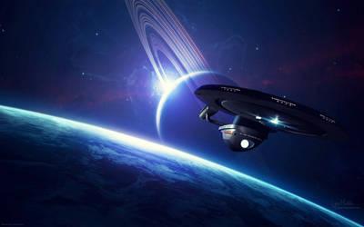 Leaving Orbit by LynxMukka