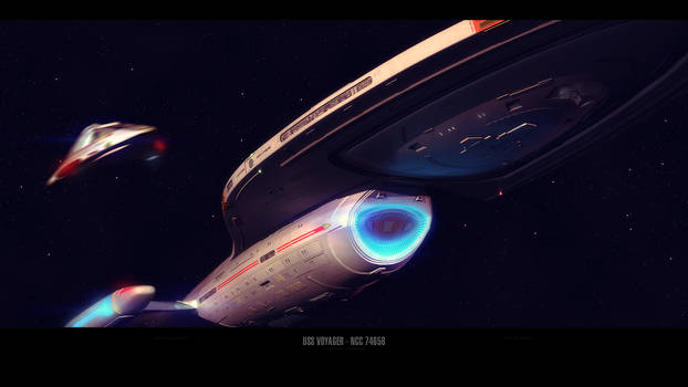 USS Voyager - NCC 74656
