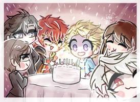 Yoosung Birthday~ by Nyamuh