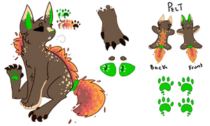 Fall Adopt :REF: by kalo-is-gone