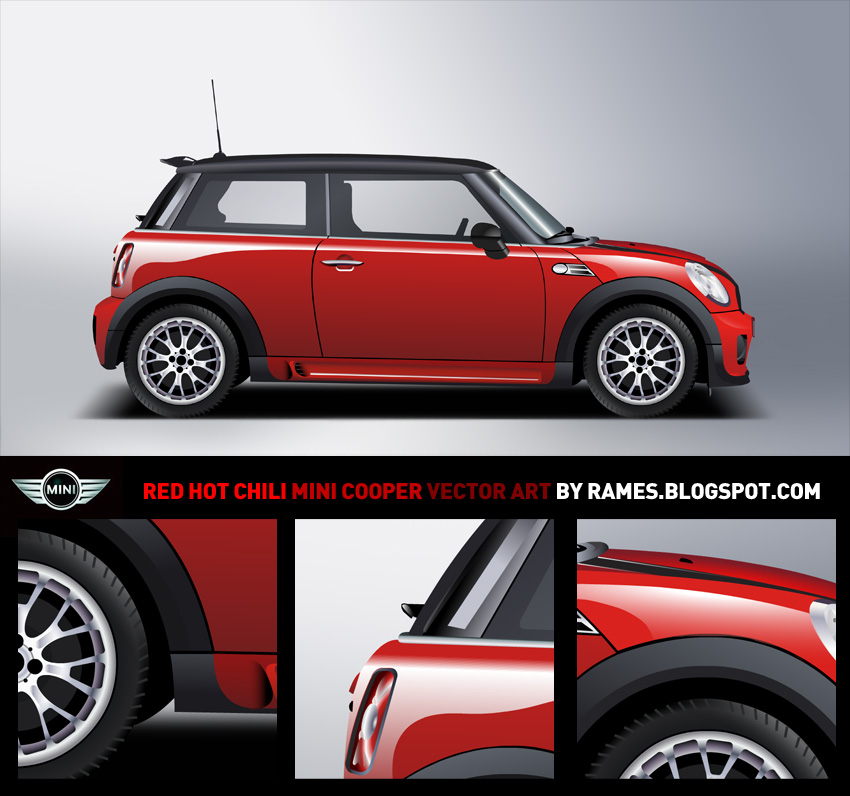 red hot chili mini cooper by rames on deviantart. Black Bedroom Furniture Sets. Home Design Ideas