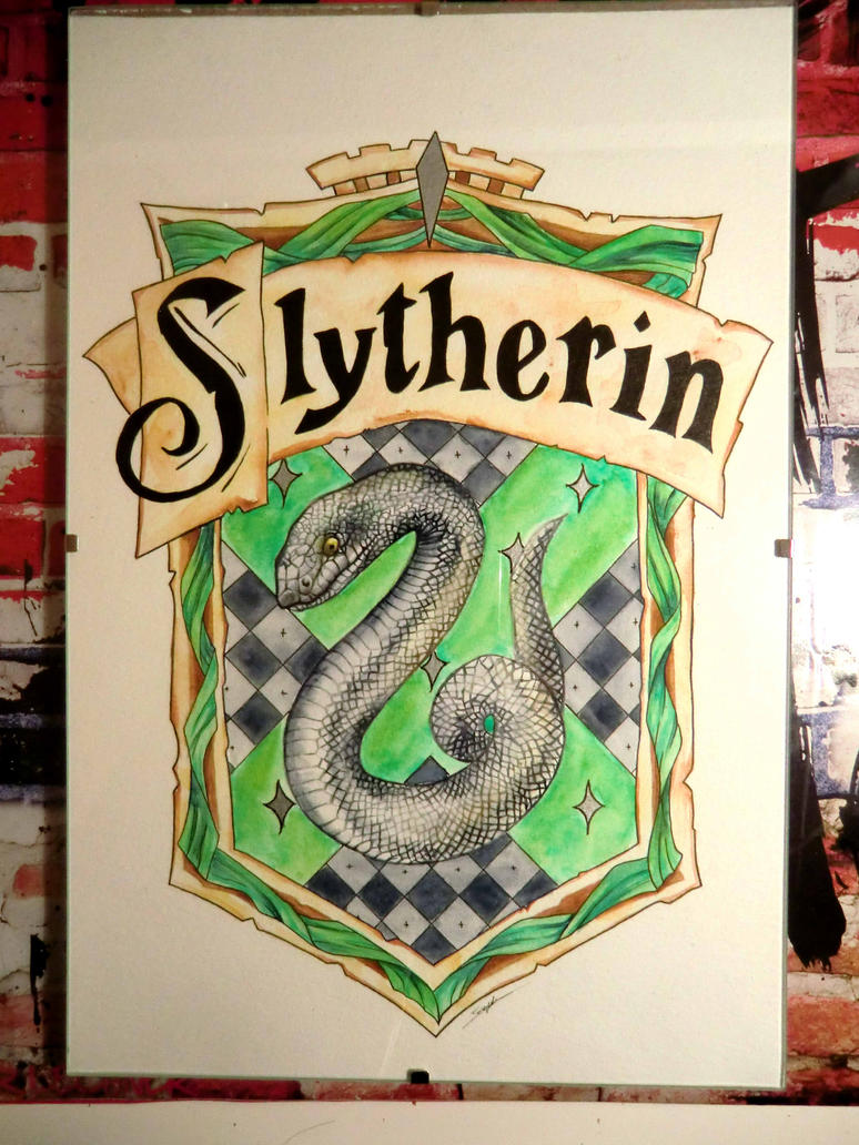 Fin poney base Roustai + suite licorne de feeeuu Slytherin_crest_by_grey_draco-dc4y3m5