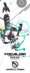 ANTI-WORLD: Miku by MONQMONK