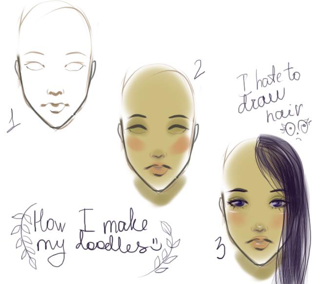 Random doodles. by Lillehanna