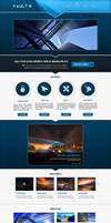 Vault Theme Home Page