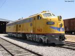 Union Pacific E unit 942 3