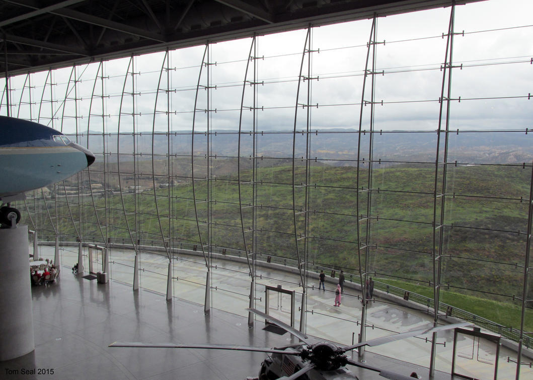Ronald Reagan Library view . by decophoto32