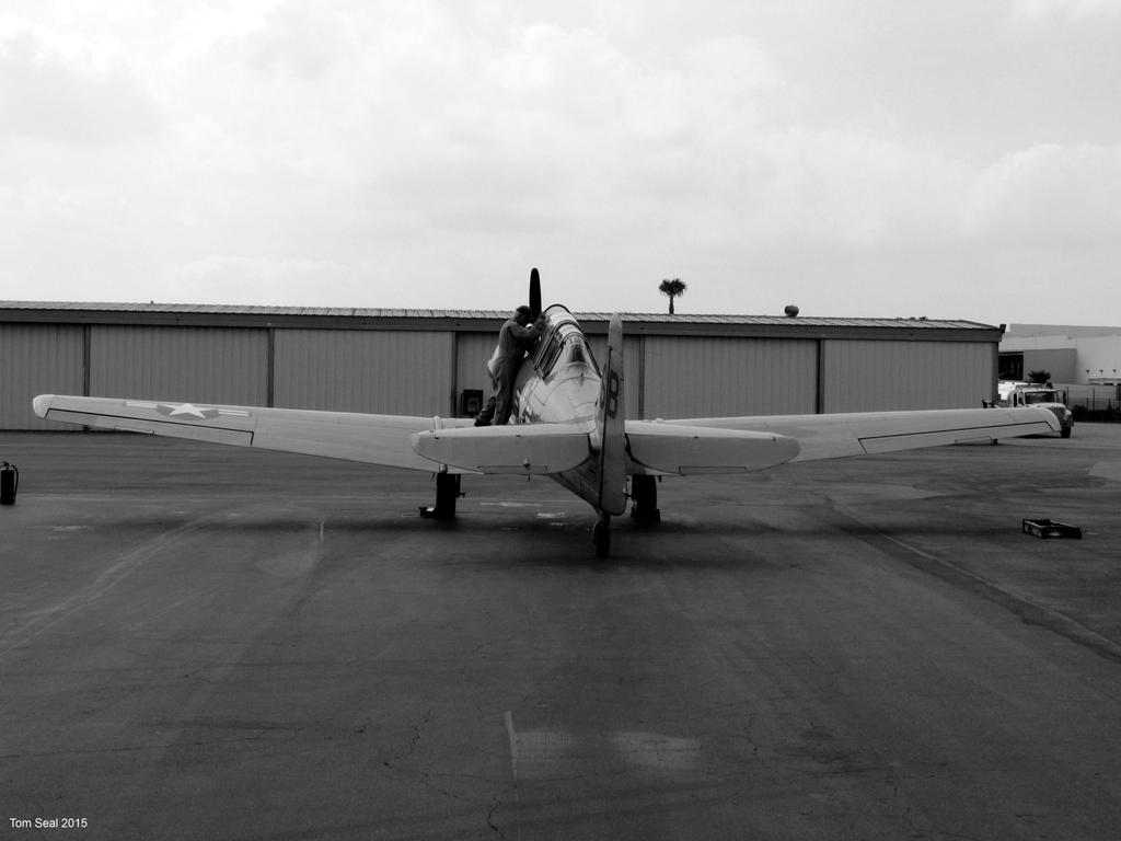 T6 Texan BW by decophoto32