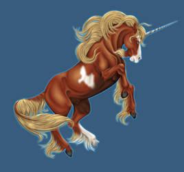 JayDee the unicorn by ArienRavyn