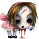 Little Miss Zombie Muffet by ArienRavyn