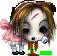 Little Miss Zombie Muffet by ArienRavyn