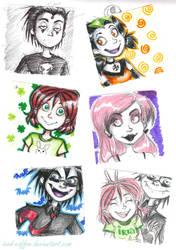 ReVAMPed post-it doodles