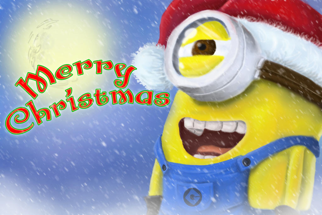 Minion Christmas by JediKnight97 on DeviantArt