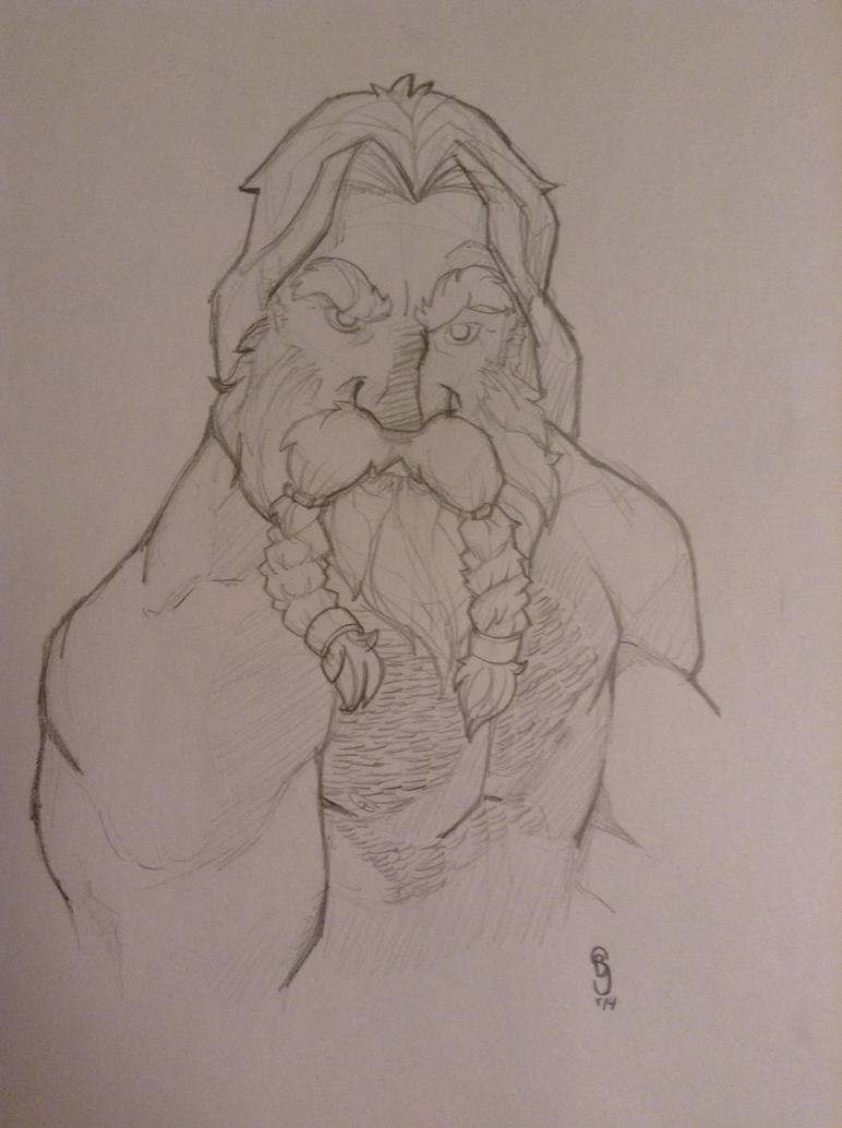 Burley Dwarf by JediKnight97