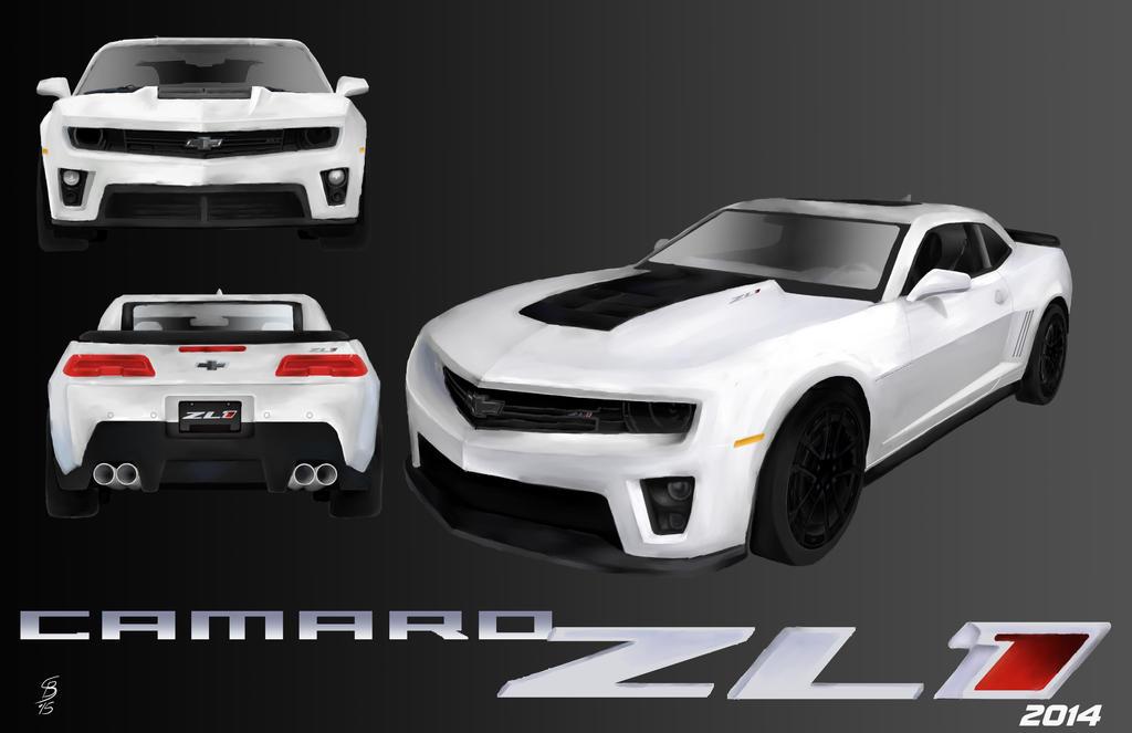 Camaro ZL1 2014 by JediKnight97