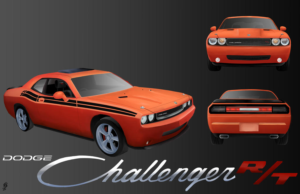 Dodge Challenger RT 2010 by JediKnight97