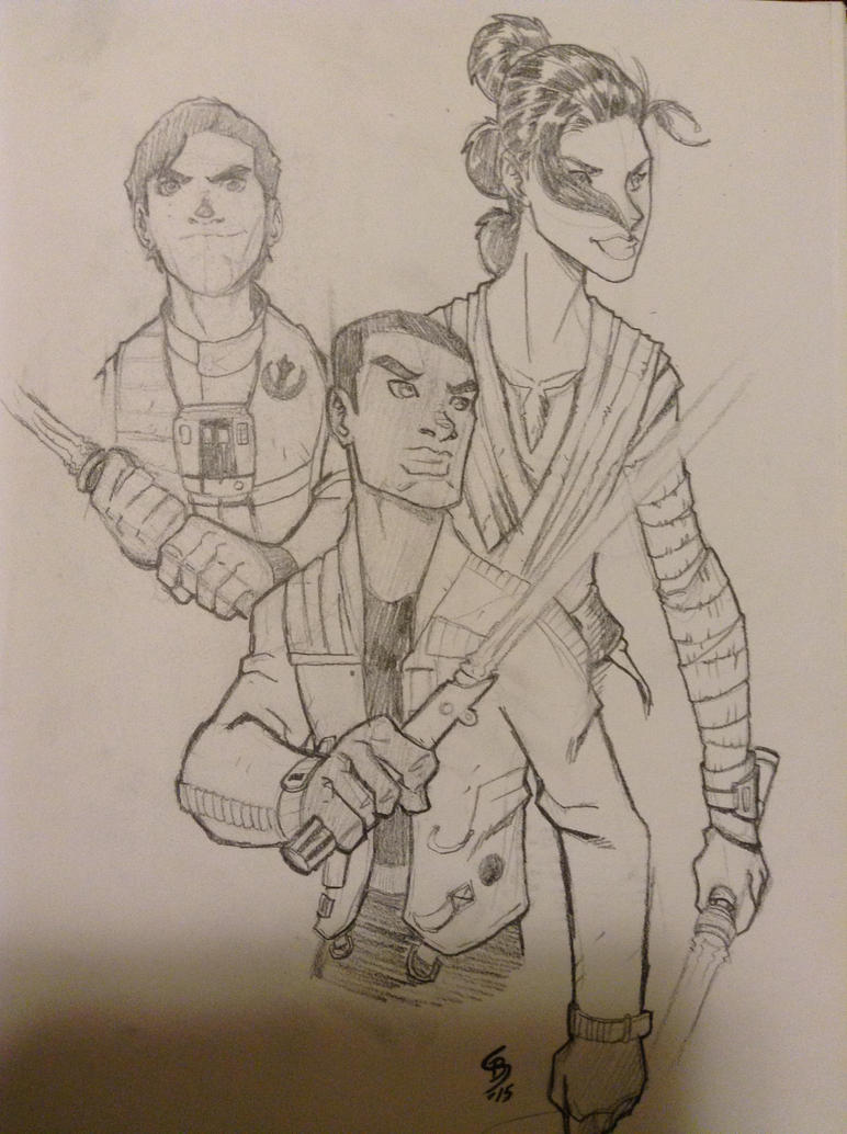 The Force Awakens Jedi by JediKnight97