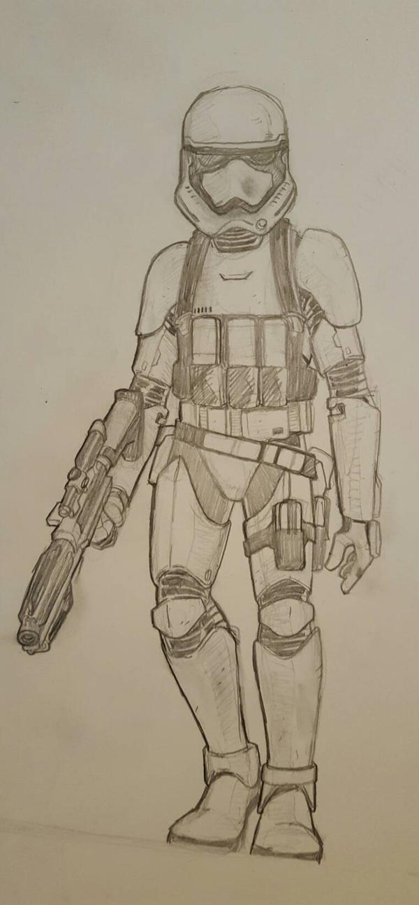 ForceFriday First Order Trooper by JediKnight97