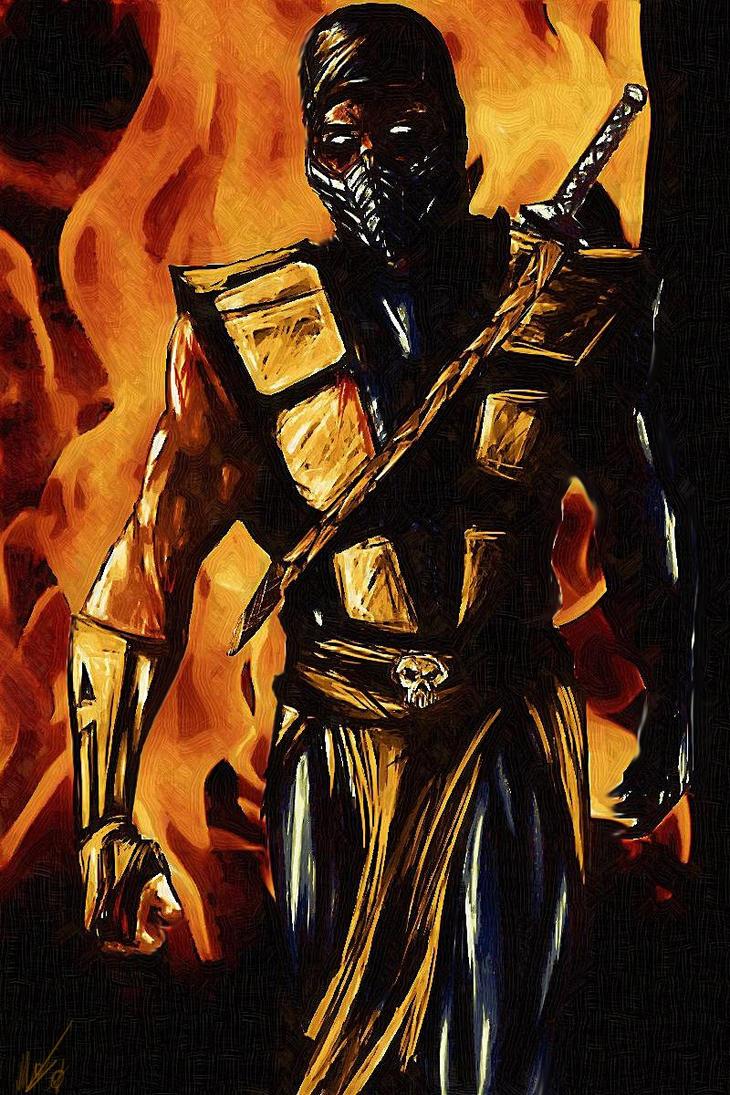 Scorpion by Blackknight1987