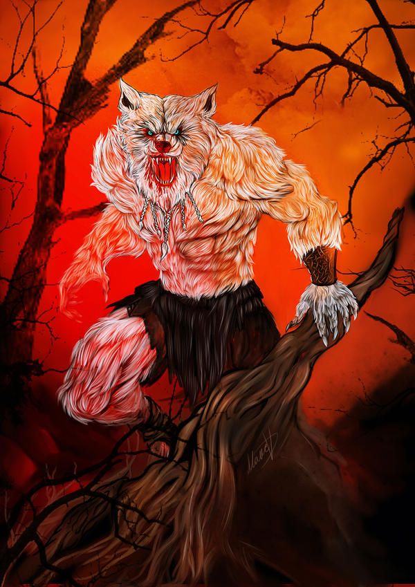 werewolf by Blackknight1987