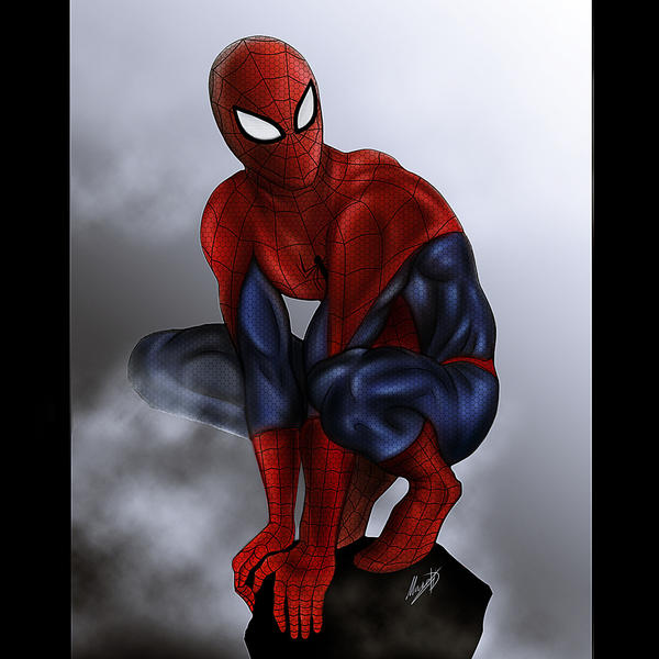 Spider-man by Blackknight1987