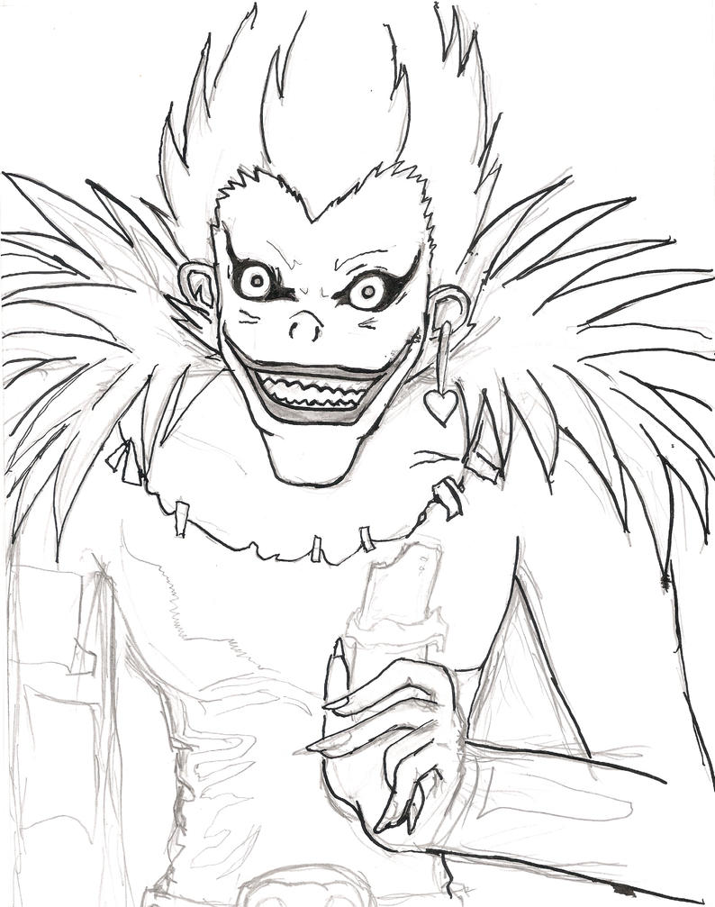 deathnote coloring pages - photo#39