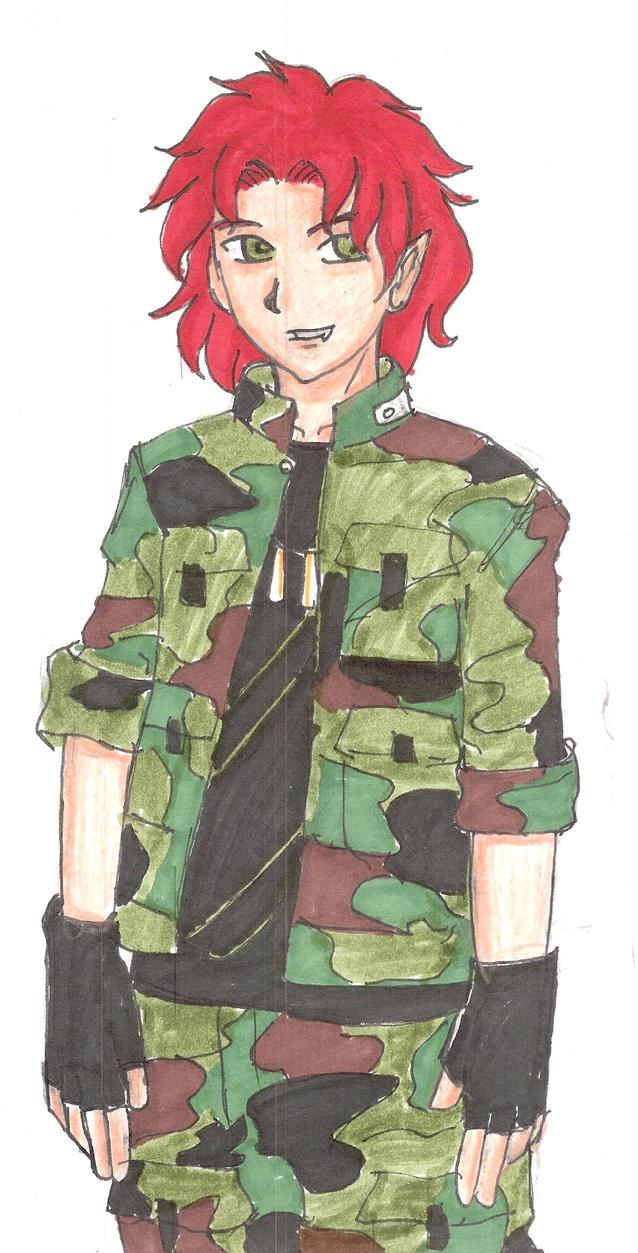 armyboy  akuma by miharuyume