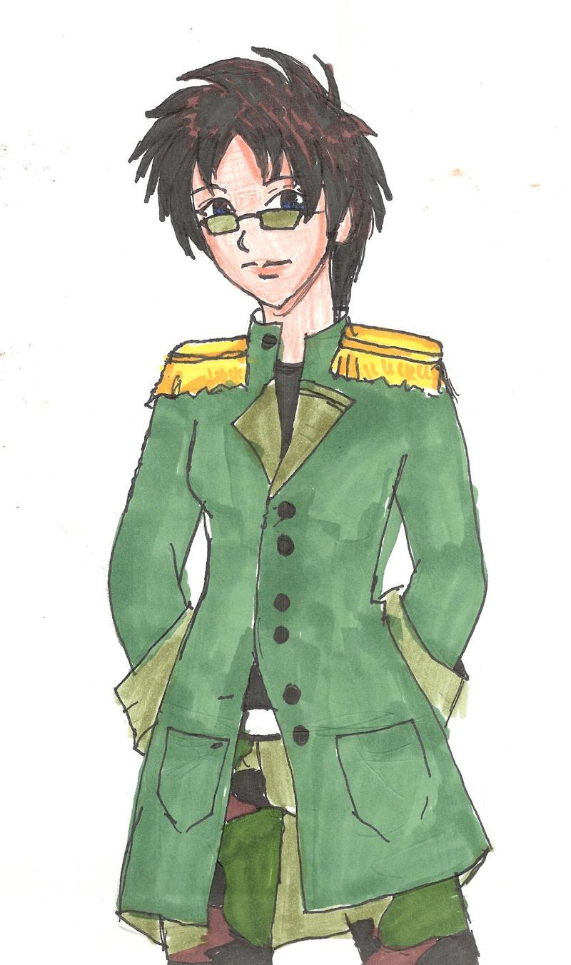 armygirl kiley by miharuyume