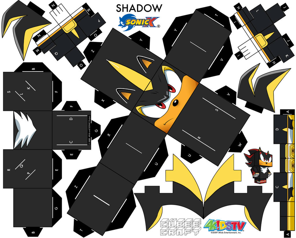 DeviantArt: More Like Shadow Android Cubeecraft by augustelos