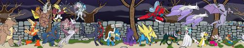 Pokemon lists-Mega Evolution by augustelos