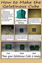 How to make the Gelatinous Cube by augustelos