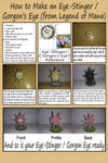 How to Make an Eye Stinger and Gorgon eye by augustelos