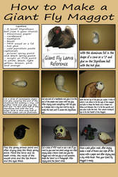 How to Make a Giant Fly Maggot