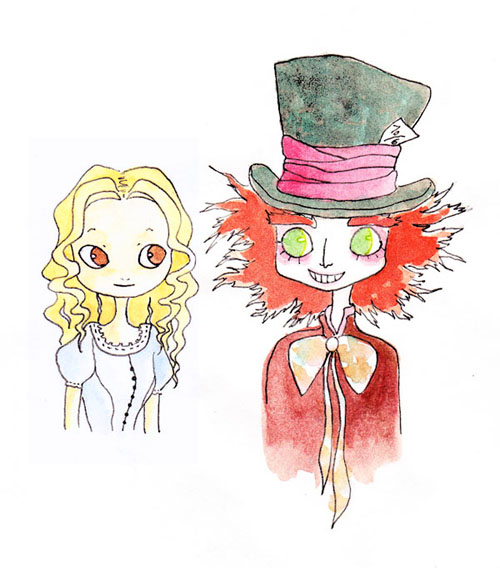 dialogue between alice and the mad hatter