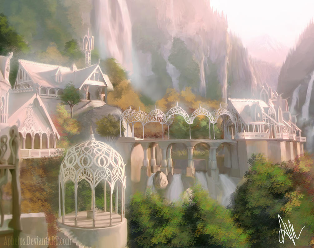 Rivendell Is SHINY By Aphelps On DeviantArt
